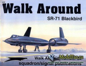 Squadron Signal (Walk Around) 5532 - SR-71 Blackbird