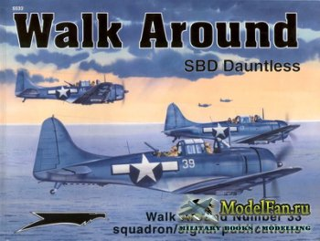 Squadron Signal (Walk Around) 5533 - SBD Dauntless