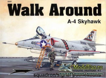 Squadron Signal (Walk Around) 5541 - A4 Skyhawk