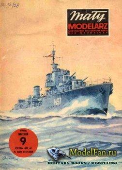 Maly Modelarz №9 (1986) - Niszczyciel ORP