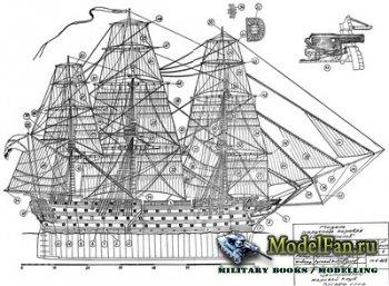 Чертежи парусных кораблей (12 Appostolov 1841, America 1851, Ariel Clipper, ...