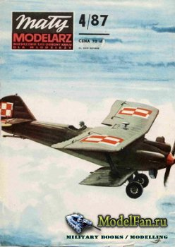 Maly Modelarz №4 (1987) - Samolot Breguet XIX B-2