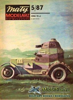 Maly Modelarz №5 (1987) - Polskie samochody pancerne