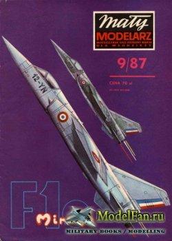 Maly Modelarz №9 (1987) - Samolot Mirage F.1C