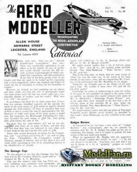 Aeromodeller №68 (July 1941)