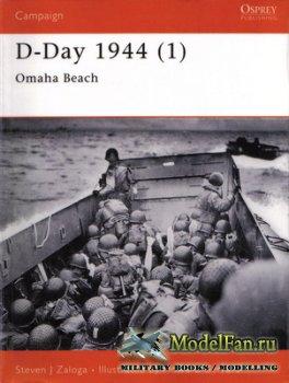 Osprey - Campaign 100 - D-Day 1944 (1). Omaha Beach