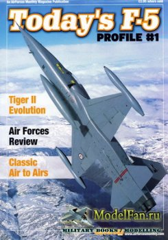 AirForces Monthly - Profile #1 - Today's F-5
