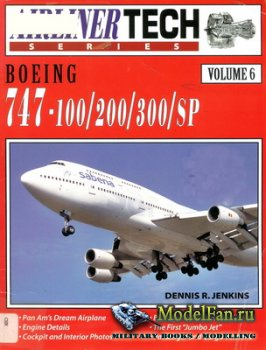 Airlife - Airliner Tech (Vol.6) - Boeing 747-100/200/300/SP