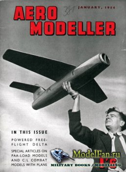 Aeromodeller (January 1954)