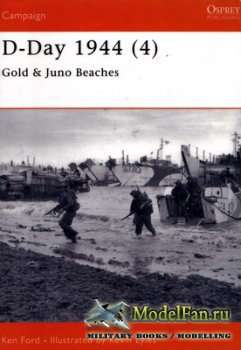 Osprey - Campaign 112 - D-Day 1944 (4). Guld & Juno Beaches