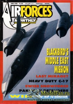 AirForces Monthly (June 1988) №3
