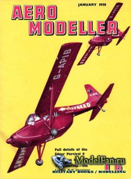 Aeromodeller (January 1958)