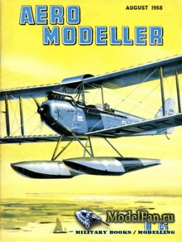 Aeromodeller (August 1958)