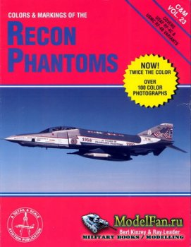 Airlife - Colors & Markings (Vol.23) - Colors & Markings of the Recon Phant ...