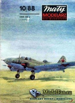 Maly Modelarz №10 (1988) - Samolot bombowy Il-4