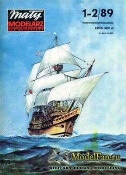 Maly Modelarz №1-2 (1989) - Historyczny zaglowiec