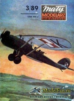 Maly Modelarz №3 (1989) - Samolot towarzyszacy Lublin R-XIII D