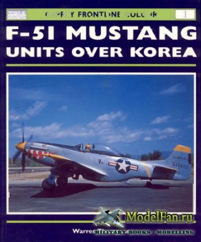 Osprey - Frontline Colour 1 - F-51 Mustang Units Over Korea