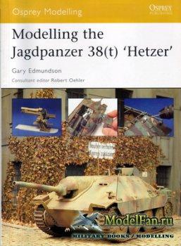 Osprey - Modelling 10 - Modelling the Jagdpanzer 38(t) 'Hetzer'