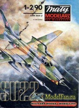 Maly Modelarz №1-2 (1990) - Samolot mysliwsko-bombowy Su-22