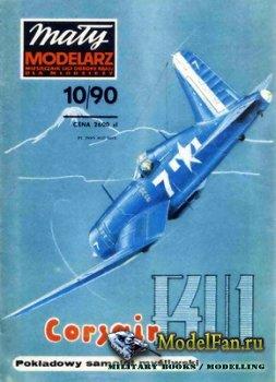 Maly Modelarz №10 (1990) - Samolot Chance Vought F4U-1D