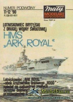 Maly Modelarz №11-12 (1990) - Lotniskowiec HMS