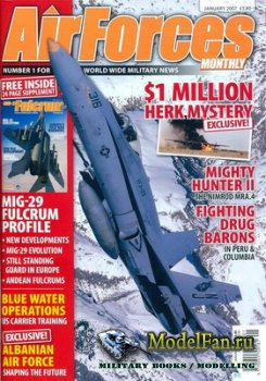 AirForces Monthly (January 2007) №226