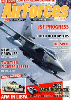 AirForces Monthly (February 2007) №227