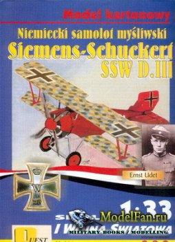 Quest - Model Kartonowy №14 - Siemens-Schuckert SSW D.III