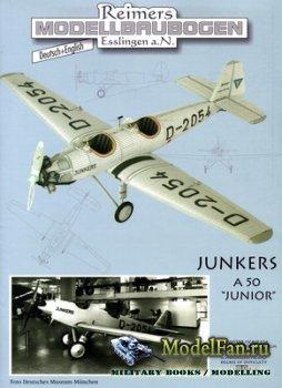 Reimers Modellbaubogen - Junkers A-50 Junior