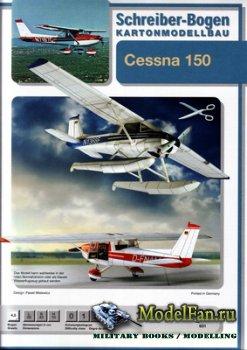 Schreiber-Bogen Kartonmodellbau - Cessna 150