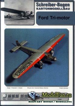 Schreiber-Bogen Kartonmodellbau - Ford Tri-motor