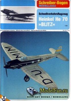 Schreiber-Bogen Kartonmodellbau - Heinkel He 70