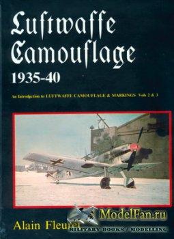 Luftwaffe Camouflage 1935-1940 (Alain Fleuret)