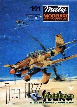 Maly Modelarz №1 (1991) - Bombowiec Junkers Ju-87B Stuka
