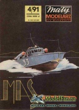 Maly Modelarz №4 (1991) - Kuter torpedowy MAS