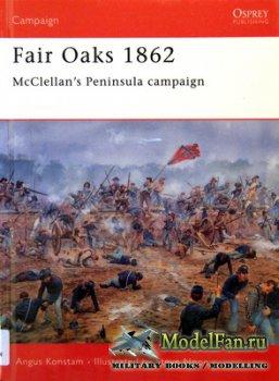 Osprey - Campaign 124 - Fair Oaks 1862. McClellan's Peninsula Campaign