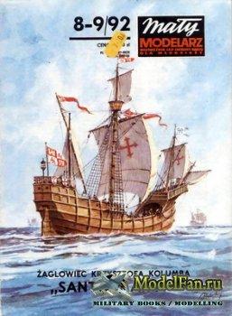 Maly Modelarz №8-9 (1992) - Zaglowiec