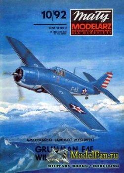 Maly Modelarz №10 (1992) - Samolot Grumman F4F Wildcat