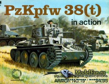 Squadron Signal (Armor In Action) 2019 - PzKpfw 38(t)