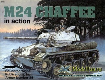 Squadron Signal (Armor In Action) 2025 - M24 Chaffee