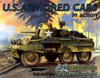 Squadron Signal (Armor In Action) 2037 - U.S. Armored Cars