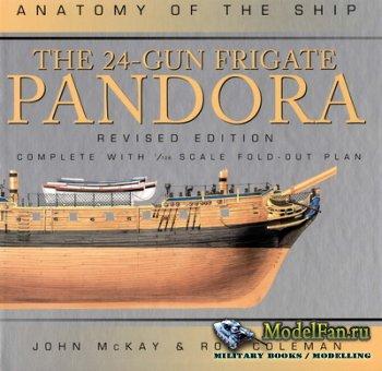 Anatomy Of The Ship - The 24-gun Frigate Pandora