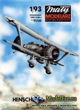Maly Modelarz №1 (1993) - Samolot Henschel Hs-123 A-1