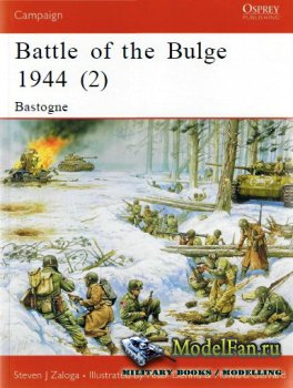 Osprey - Campaign 145 - Battle of the Bulge 1944 (2) Bastogne