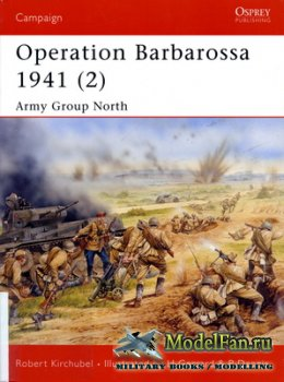 Osprey - Campaign 148 - Operation Barbarossa 1941 (2). Army Group North