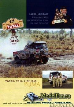 PK Graphica 26 - Tatra T815 2 ZE R55 Puma (Dakar 2001)