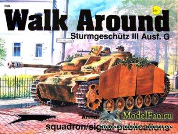 Squadron Signal (Armor Walk Around) 5702 - Sturmgeschütz III Ausf.G
