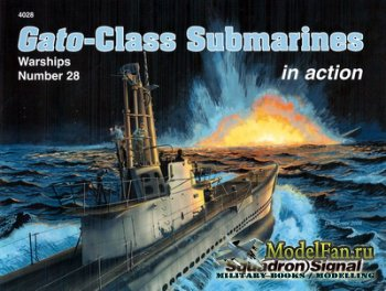Squadron Signal (Warships In Action) 4028 - Gato-Class Submarines