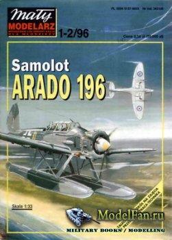 Maly Modelarz №1-2 (1996) - Samolot Arado Ar-196